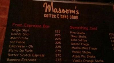 "Photo of Cafe Masoom's Pancake Lounge at ""dd"" Sector 47, Cca, Phase 4, Dha, Lahore, Pakistan"