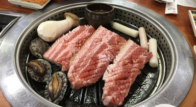 Photo of BBQ Joint 흑돼지가 있는 풍경 at 진군남4길 7-8, 제주시, South Korea