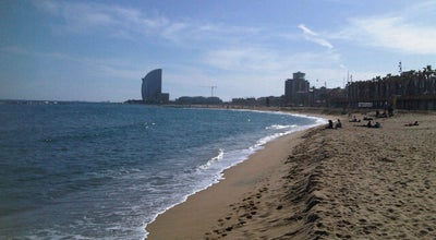 Photo of Beach Platja del Somorrostro at Passeig Marítim De La Barceloneta, Barcelona 08003, Spain