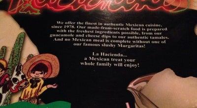 Photo of Mexican Restaurant La Hacienda at 2620 S Madison St, Muncie, IN 47302, United States