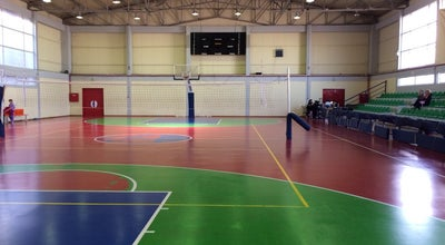 "Photo of Basketball Court Κλειστό Γήπεδο Μπάσκετ Γκράβας ""Αντώνης Τρίτσης"" at Αθήνα, Greece"