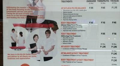 Photo of Massage Karada Philippines at Level 3, New Glorietta Mall, Ayala Center, Makati, Makati City, Philippines