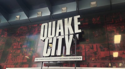 Photo of History Museum Quake City at Cashel Street, Christchurch, New Zealand
