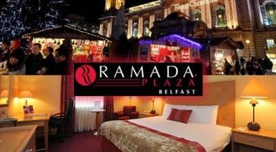 Photo of Hotel Ramada Plaza Belfast at 117 Miltown Rd, Shaw's Bridge, Belfast BT8 7XP, United Kingdom