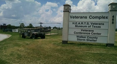 Photo of History Museum Hearts Veterans Museum at 457-469 Ave Q, Huntsville, TX 77320, United States