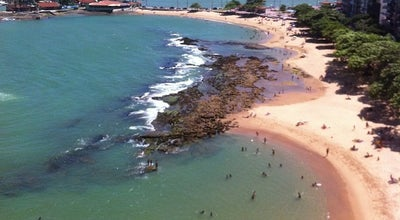 Photo of Beach Praia dos Namorados at R. Esímio Cime, Guarapari, Brazil