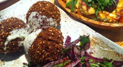 Photo of Middle Eastern Restaurant Yalla Yalla at 12 Winsley St., London W1W 8HQ, United Kingdom