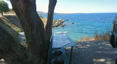 Photo of Beach Φυκιότρυπα at Κάστρο Μυτιλήνης, Mytilíni 811 00, Greece