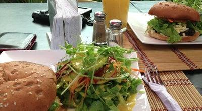 Photo of Vegetarian / Vegan Restaurant Mantras Café at Diagonal A Whappin, San Pedro, Costa Rica
