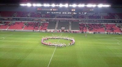 Photo of Soccer Stadium Eden Aréna (Stadion Eden) at U Slavie 1540/2a, Praha 100 00, Czech Republic