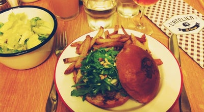 Photo of Burger Joint L'Atelier Saint-Georges at 16 Rue Henry Monnier, Paris 75009, France