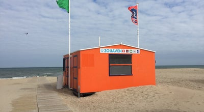 Photo of Beach Reddingspost Zouaven at Koksijde, Belgium