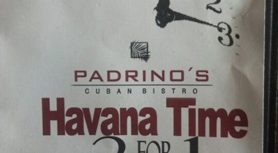 Photo of Cuban Restaurant Padrino's Cuban Bistro at 13586 Village Park Dr, Orlando, FL 32837, United States