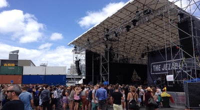 Photo of Music Venue St Jerome's Laneway Festival at Silo Park, Auckland, New Zealand