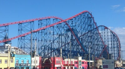 Photo of Theme Park Blackpool Pleasure Beach at Ocean Boulevard, Blackpool FY4 1EZ, United Kingdom
