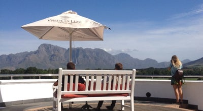Photo of Tourist Attraction Vrede en Lust Winery at Intersection Of R45 And Klapmuts Rds, Franschhoek 7690, South Africa