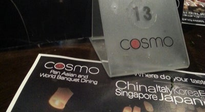 Photo of Asian Restaurant Cosmo Restaurant at Frenchgate Shopping Centre, DONCASTER DN1 1SW, United Kingdom