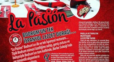 Photo of Spanish Restaurant La Pasion Restaurante Espanol at Çarşı Mah. Uslu Sok. No:8, Bodrum 48400, Turkey
