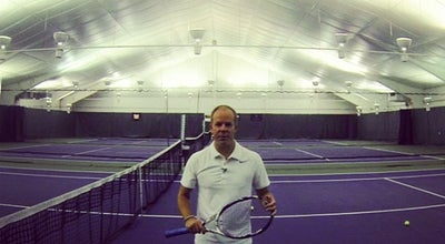 Photo of Tennis Court Solaris Racquet Club at 23 Radio Pl, Stamford, CT 06906, United States