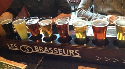 Photo of Brewery Les 3 Brasseurs at 1356 Rue Sainte-catherine Ouest, Montréal, QC H3G 1T6, Canada