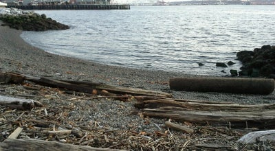 Photo of Beach Olympic Sculpture Park Pocket Beach at Seattle, WA 98121, United States