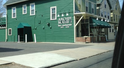 Photo of Burger Joint Archie Moore's at 188 Willow St, New Haven, CT 06511, United States