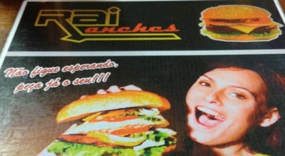Photo of Burger Joint Raí Lanches at Praça Chiquinho Furtado, 68, Conselheiro Lafaiete 36400-000, Brazil