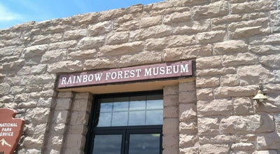 Photo of Tourist Information Center Rainbow Forest Museum at 6618 Petrified Forest Rd., Holbrook, AZ 86025, United States