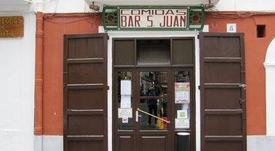 Photo of Mediterranean Restaurant Comidas Bar San Juan at Calle Guillem De Montgri 8, Ibiza Town 07800, Spain