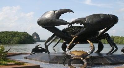 Photo of Sculpture Garden Krabi Crab Statue at Thailand
