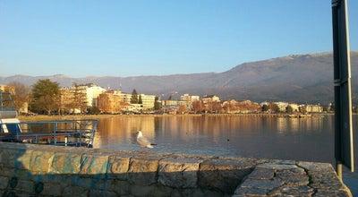 Photo of Lake Na ohridsko pristaniste at Turisticka, Ohrid, Macedonia