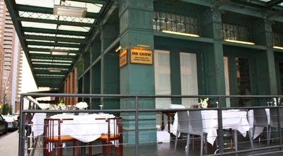Photo of Chinese Restaurant Mr. Chow Tribeca at 121 Hudson St, New York, NY 10013, United States