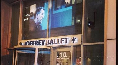 Photo of Dance Studio The Joffrey Ballet at 10 E Randolph St., Chicago, IL 60601, United States