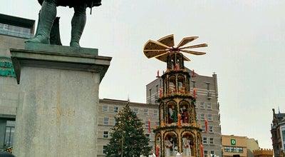 Photo of Monument / Landmark Händel-Denkmal at Marktplatz, Halle 06108, Germany