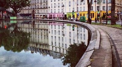 Photo of Harbor / Marina Quai de Valmy at Quai De Valmy, Paris 75010, France