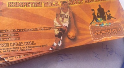 Photo of Basketball Court Hall Basket Bakti Mulya at Babakan, Mataram 83235, Indonesia