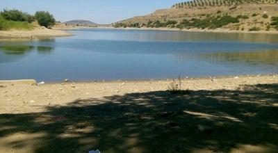 Photo of Lake Kula Baraj Gölü at Turkey