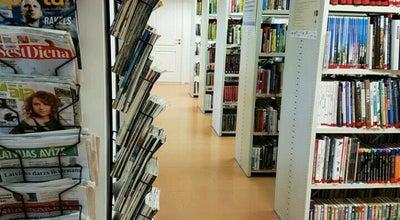 Photo of Library Gāliņciema bibliotēka at Latvia