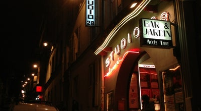 Photo of Indie Movie Theater Studio 28 at 10 Rue Tholozé, Paris 75018, France