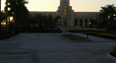 Photo of Temple Fort Lauderdale Florida Temple at 3901 Sw 154th Ave, Davie, FL 33331, United States
