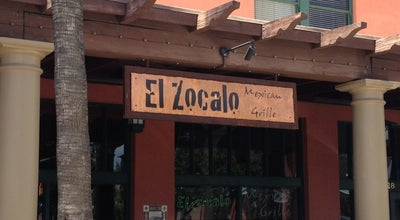 Photo of Mexican Restaurant El Zocalo Mexican Grille at 28 S San Marcos Pl, Chandler, AZ 85225, United States