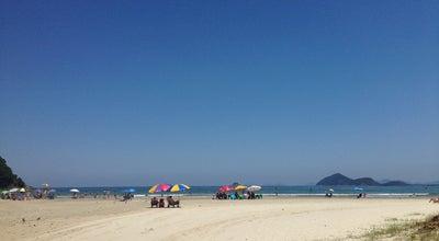 Photo of Beach Praia Jardim São Lourenço at Brazil