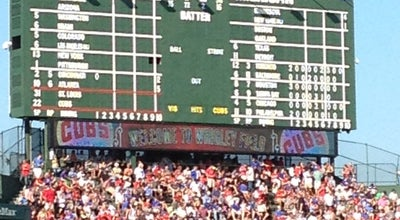 Photo of Baseball Stadium Wrigley Field at 1060 W Addison St, Chicago, IL 60613, United States