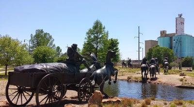 Photo of Monument / Landmark Centennial Land Run Monument at Bricktown Entertainment District, Oklahoma City, OK 73129, United States