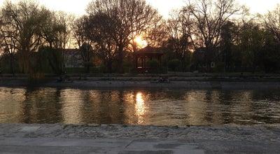 Photo of Park Rába part at Győr, Hungary
