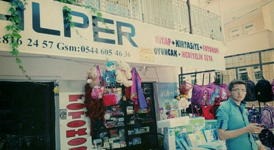 Photo of Bookstore Alper Kırtasiye at Hastane Caddesi Uzeri, Turkey