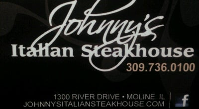 Photo of Steakhouse Johnny's Italian Steakhouse at 1300 River Dr, Moline, IL 61265, United States