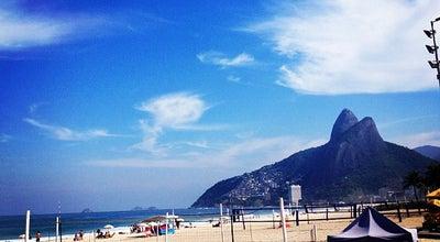 Photo of Outdoors and Recreation Orla Ipanema-Leblon at Av. Vieira Souto, Rio de Janeiro, Brazil