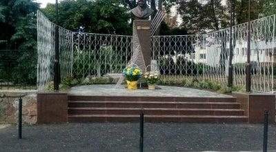 Photo of Outdoor Sculpture Пам'ятник Пулюю І.П. at Ukraine