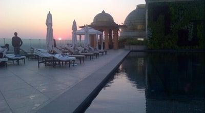 Photo of Pool The Rooftop Pool, Leela Palace Delhi at New Delhi, India, India